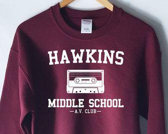 Stranger Things Hawkins Middle School AV Club Tv by LowCulture