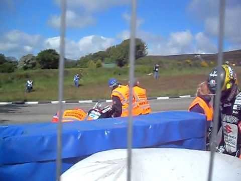Guy Martin Crash at Creg Ny Baa