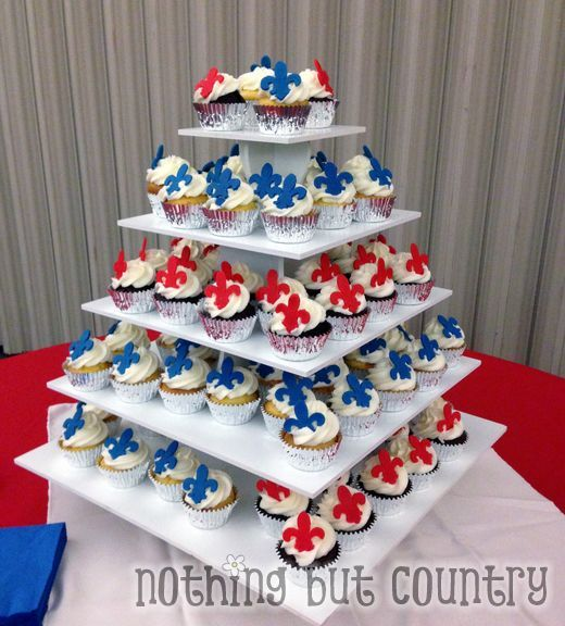 Eagle Court Of Honor Cupcakes Nothingbutcountry Com