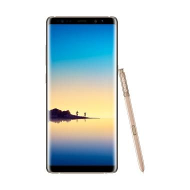 Jual  Rp 12,139,000 Samsung Galaxy Note8 Smartphone - Maple Gold [B]