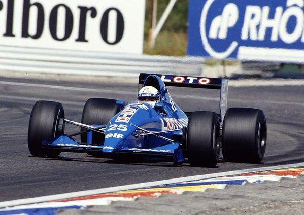 Nicola Larini (Ligier-Ford V8, JS33B)