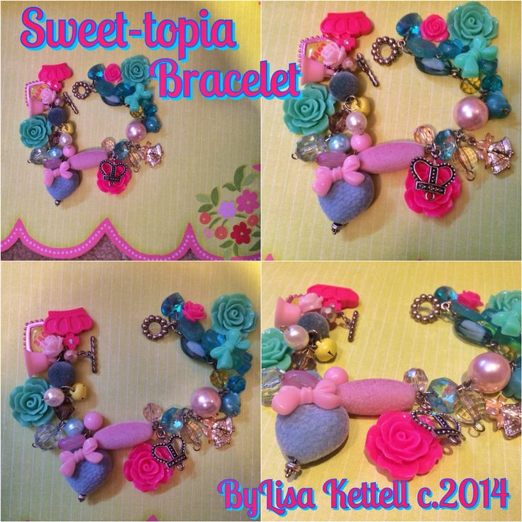 Sweet Topia Bracelet LK Designs DIY Projects Pinterest