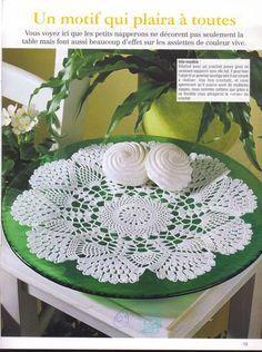 Круглые салфетки - Для уюта в доме