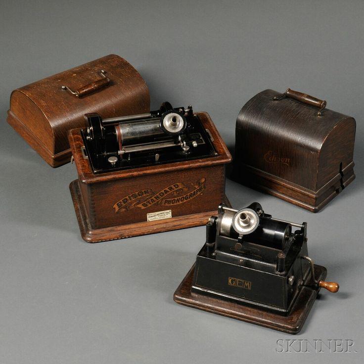 "Edison ""GEM"" Model B Phonograph"