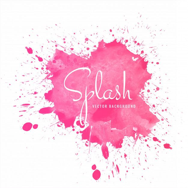 Download Beautiful Colorful Soft Watercolor Splash Vector For Free