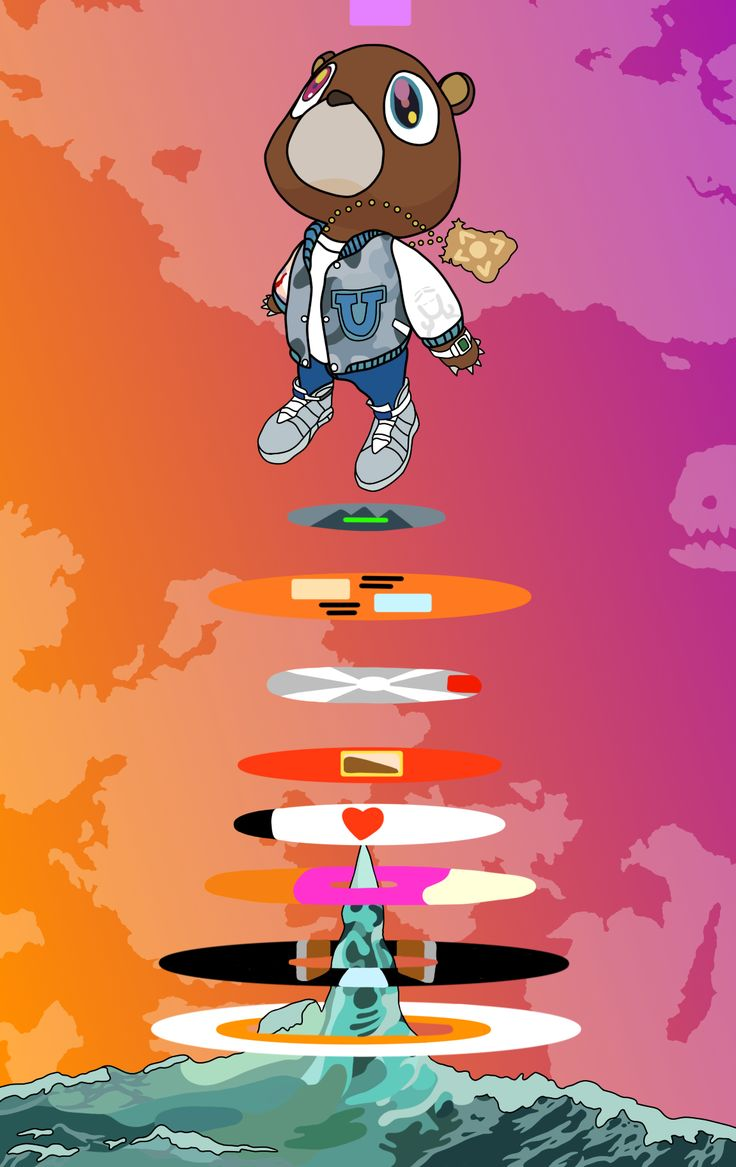 Some Wavy Fanart I Did Kanye Kanye West Wallpaper Pop Art Pop Art Wallpaper
