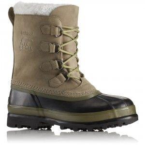 Sorel Men's Caribou Boots - Sage / Black