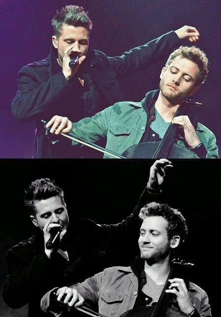 Ryan and Brent <3 #OneRepublic live