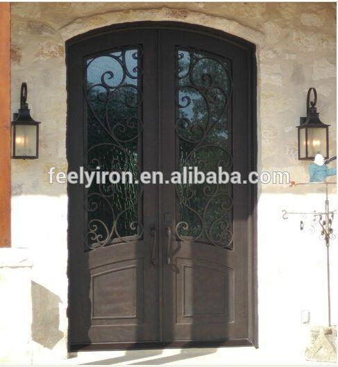 Eyebrow Top Iron Front Door Work Fd 416   Buy Eyebrow Top Iron Front Door