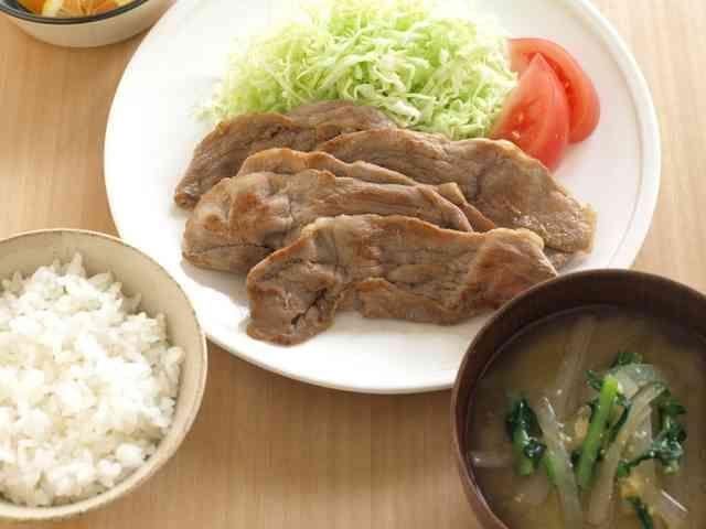 モテる!定食屋さんの生姜焼きの画像