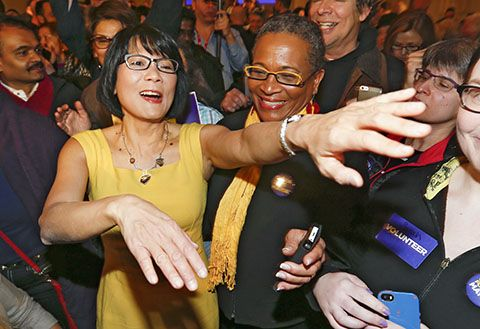 Olivia Chow links John Tory to Rob Ford:  Olivia Chow took her first pointed shots at election rivals Rob Ford and John Tory at her inaugural campaign rally on Sunday. (Toronto Star 16 March 2014)