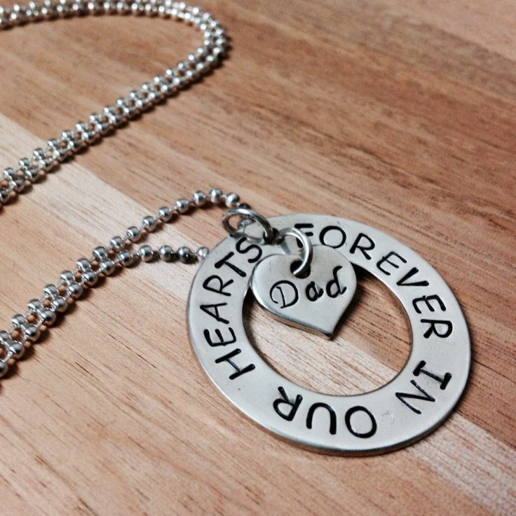 Forever In Our Hearts Pendant  32mm Sterling Silver Pendant  Also available in Gold Filled Silver pendants comes with a sterling silver ball chain Gold Pendants do not come with a chain Sterling Silver $100.00 Gold Filled $120.00