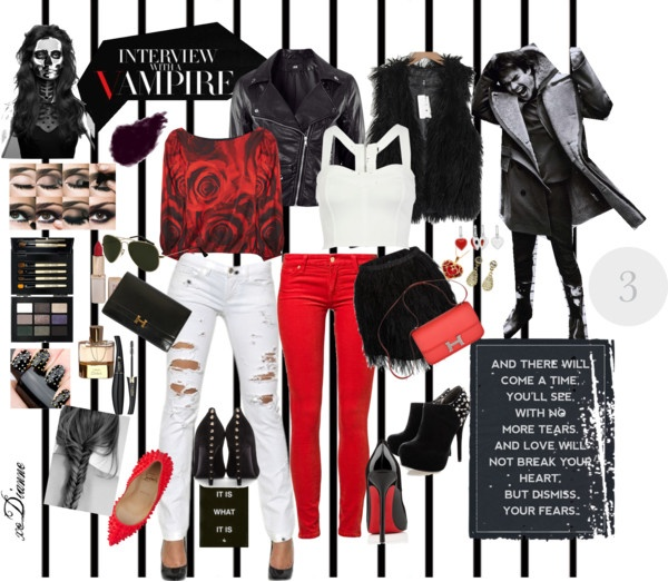 """01.17.13 - Interview with a Vampire"" by dianne-lee on Polyvore"