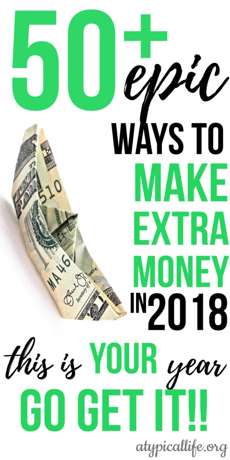 50+ Ways To Make Extra Money Today – Real Life