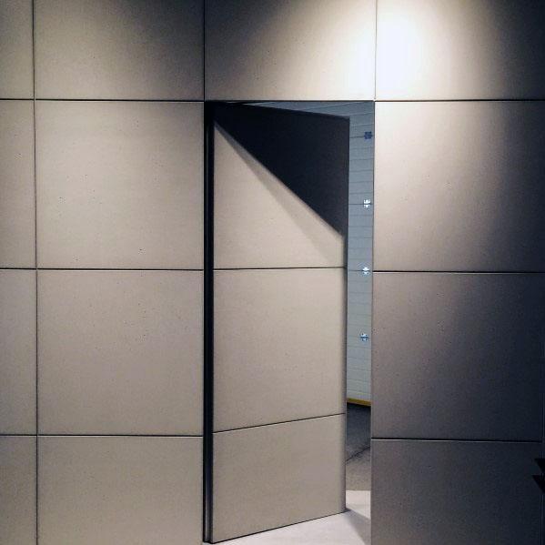Moderne #Wand #Home #Ideen #Versteckte #Türen