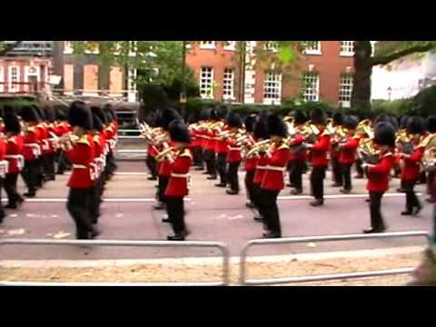 March to Beating Retreat Rehearsal - June 2013