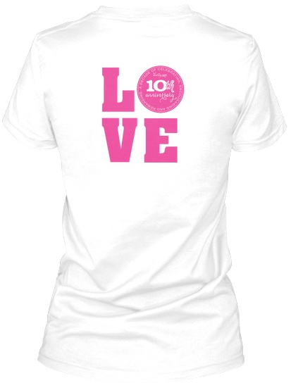Thirty-One gifts.  Consultant 10th anniversary LOVE shirt. T-Shirt, Thirtyone Wtonya