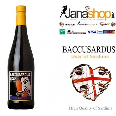 #BACCUSARDUS #BEER #Sardinia 75 cl #Bottle 75 cl #SardinianProducts #beerstagram #beergirl #CraftBeer #craftbeergirl  Sale to the detail and wholesale of Sardinian products, Excellences of Sardinia. Buy now and instantly receive a voucher 20% discount. Find us on eBay and Amazon IT, Amazon UK, Amazon ES, Amazon FR, Amazon DE.