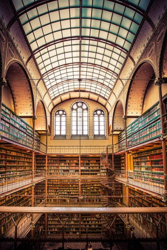 Rijksmuseum Library, Amsterdam, The Netherlands