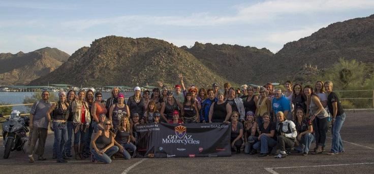 Int'l Female Ride Day, Phoenix, AZ, May 3, 2013