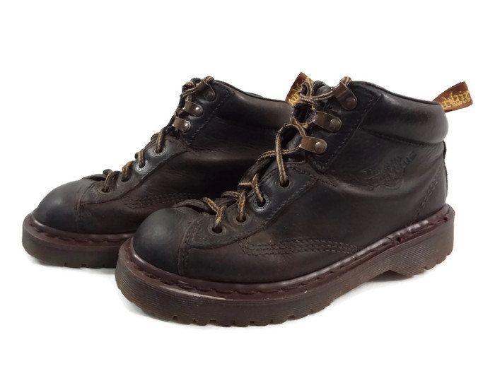 Vintage Dr Martens Hiking Boots - Size 5 UK Mens - Size 5.5 US Mens - Size 7 US Women - Doc Martens - Dr Martins - Doc Martins - Grunge - by BLACKMAGIKA on Etsy