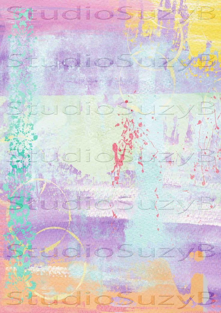 Background Scrapbook / Journal Paper 002 by StudiosuzybAustralia on Etsy