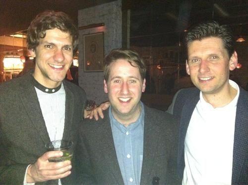 Mat Baynton, Jim Howick and Larry Rickard