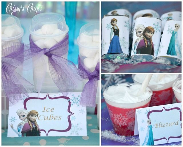 Frozen Birthday Party Ideas | Photo 23 of 23 | Catch My Party