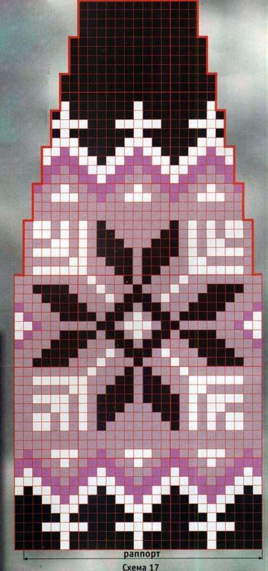Схема вязания жаккардовая шапочка с помпоном раздел спицами вязаные шапки, береты спицами схемы