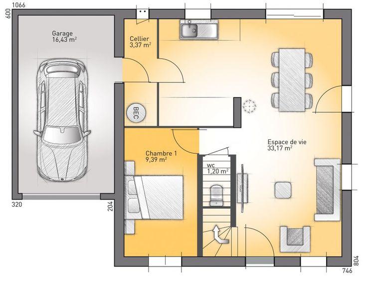 découvrez gratuitement les plans d'une maison à construire : open
