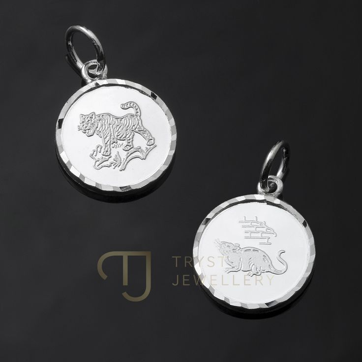 NEW 925 Silver Chinese zodiac pendant $14.95 ea   All 12 signs! Rat, Ox, Tiger, Rabbit, Dragon, Snake, Horse, Goat, Monkey, Rooster, Dog and Pig FREE INTERNATIONAL POST!! 25% Off discount card for trystjewellery.com with every purchase!  Tryst Jewellery http://trystjewellery.com/925-Sterling-Silver-Chinese-Zodiac-Pendant-Astrology-Star-12-Signs-Gift-PCZ