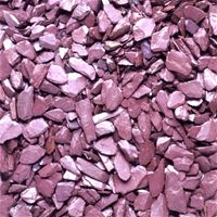 Plum Slate 40mm- Add some colour and decoration to your landscape. Slate will also help suppress weeds