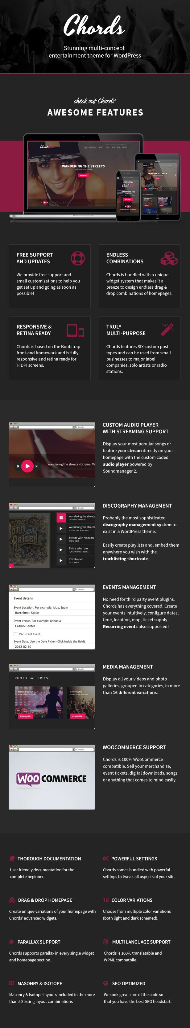 The 20 best Vice: Music, Dj and Music Band Wordpress Theme images on ...