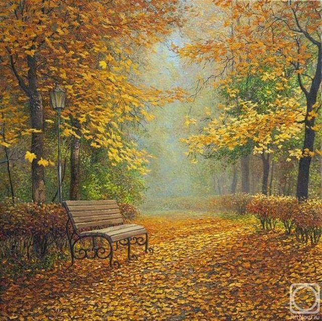 O Tapete Vermelho da Imagem: Images' Red Carpet: O Outono pelas pinceladas de Didik Olga / Autumn b...