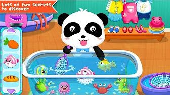 Baby Panda Games | Baby Panda's Supermarket | Explore And Find & Learn And Have Fun - YouTube