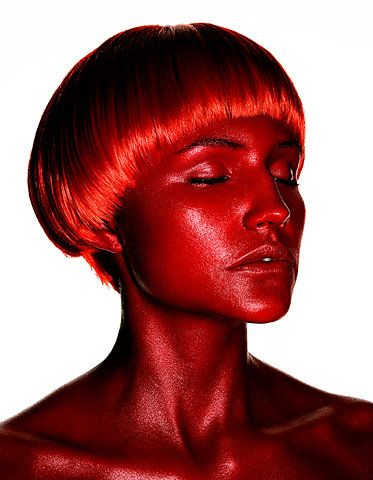 Red. Head.