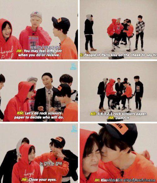 BTS Gayo Track 7 was so damn funny   allkpop Meme Center
