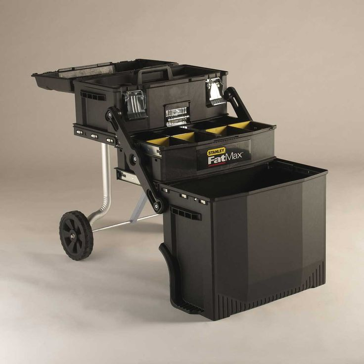 Stanley Fat Max tool box - great for camping kitchen gear