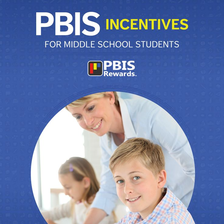 PBIS Incentives for Middle School Students #PBIS                                                                                                                                                     More