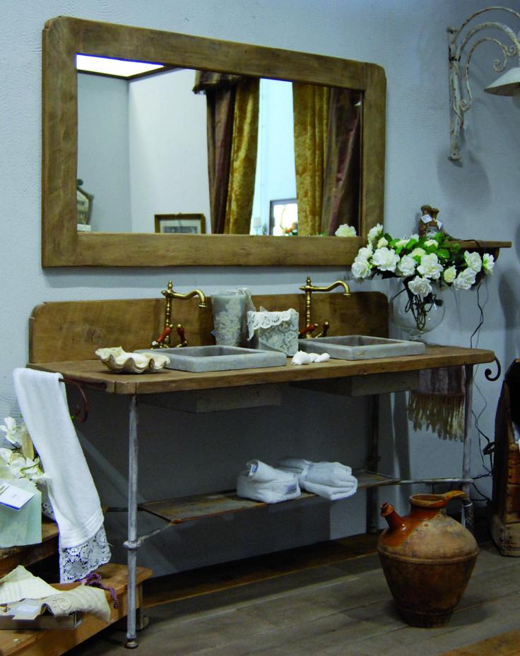 les 21 meilleures images du tableau salle de bain sur pinterest ... - Meuble Salle De Bain Fer Forge