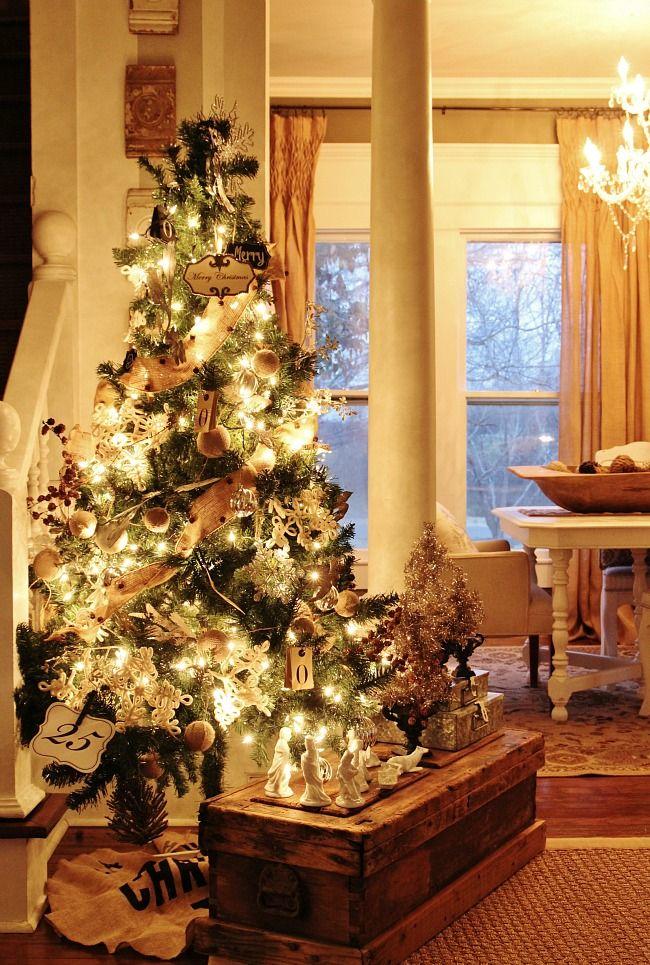 Country Christmas On Pinterest Country Christmas Christmas Home