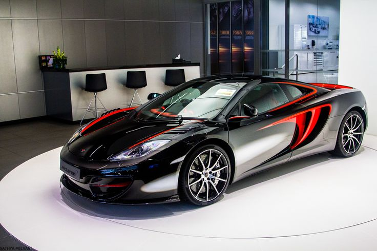 McLaren MP4-12C This is similar to a design of mine. A ...
