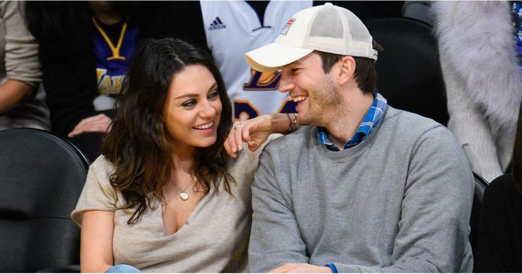 """Ashton Kutcher on His First Kiss With Mila Kunis: """"She Was Like My Little Sister"""""""
