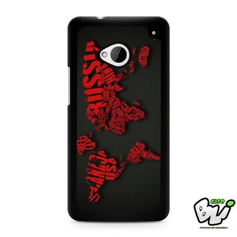 World Map HTC G21,HTC ONE X,HTC ONE S,HTC  M7, M8, M8 Mini, M9, M9 Plus,HTC Desire Case