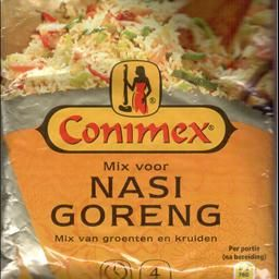 Nasi Goreng...I grew up with this brand CONIMEX...my Mom always had a variety on hand.