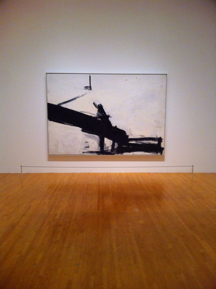 Franz Kline 'Monitor' MoCA, Los Angeles
