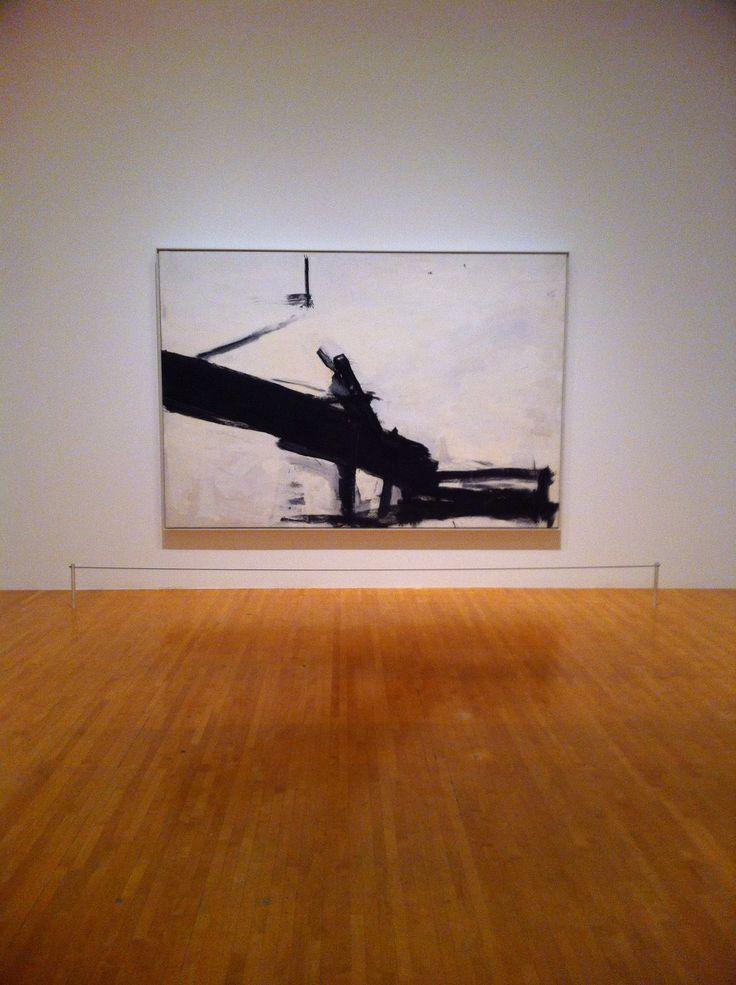 Franz Kline 'Monitor' MoCA, Los Angeles