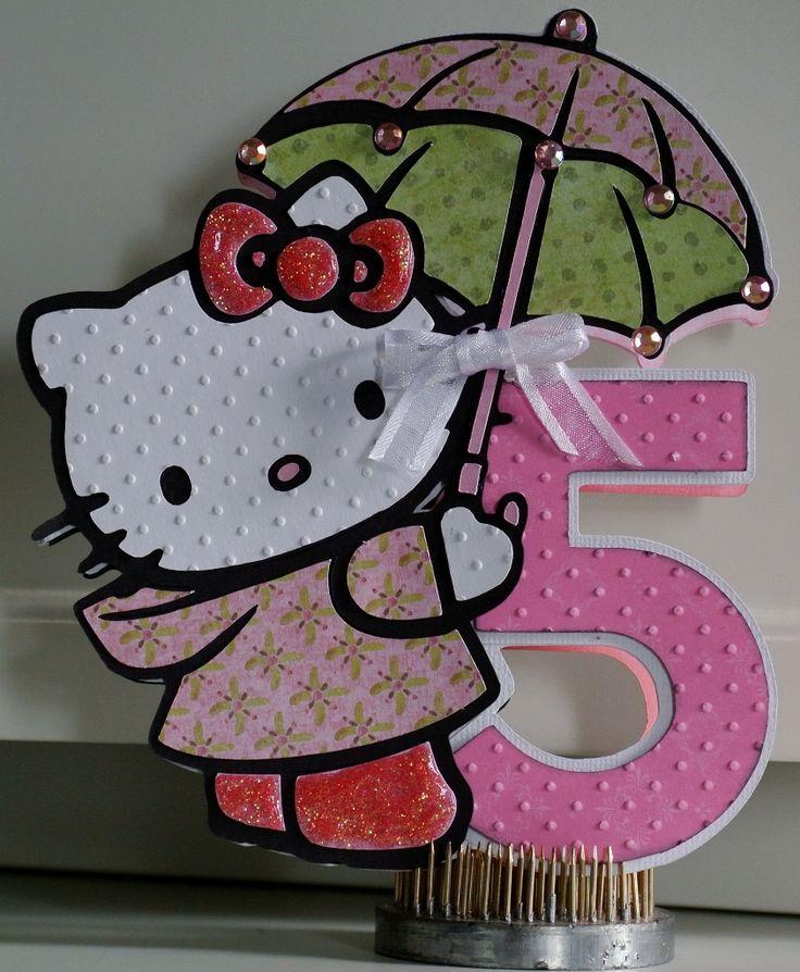 Hello Kitty Birthday Card - Cards. - Cricut Forums