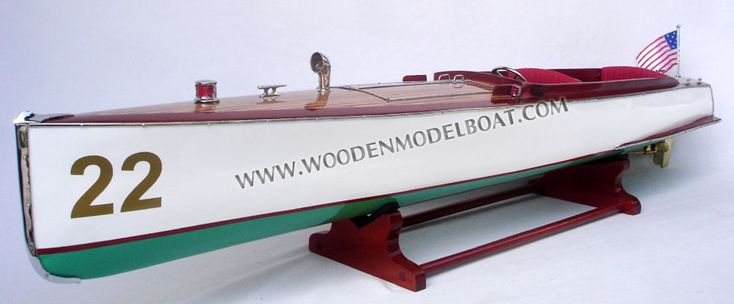 Model Boat Charles D. Mower Number 22