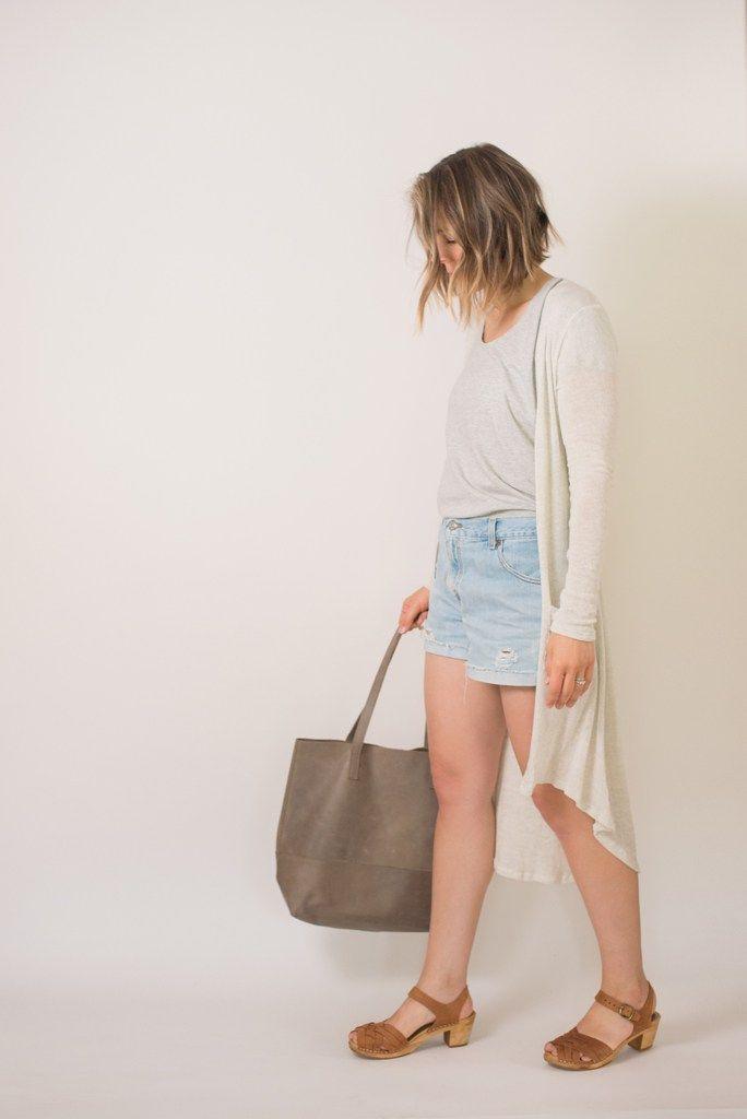 Seasons + Salt | Fashionable Tote and Lotta Clogs, Summer Style